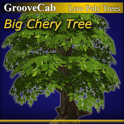 3ds max cherry tree