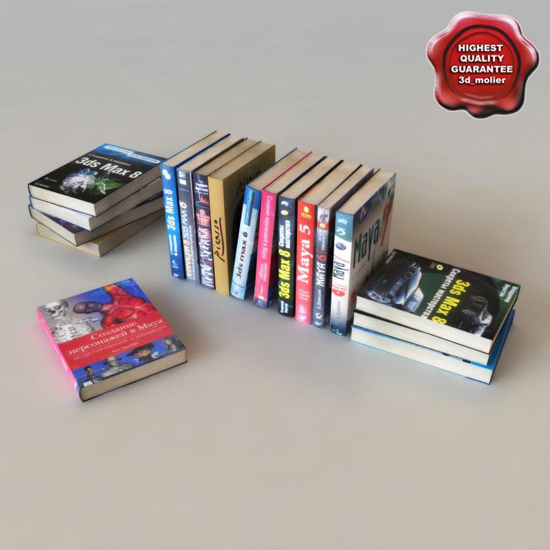 books modelled max