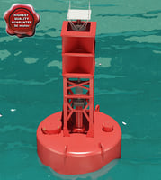 3d buoy modelled model