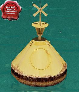 buoy v1 3d model