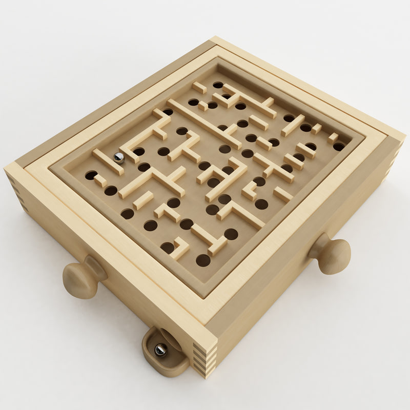 labyrinth wood max