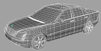 vehicle sedan 3d model