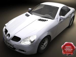 3d mercedes-benz slk 2004