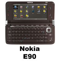 3d nokia e90 cell phone