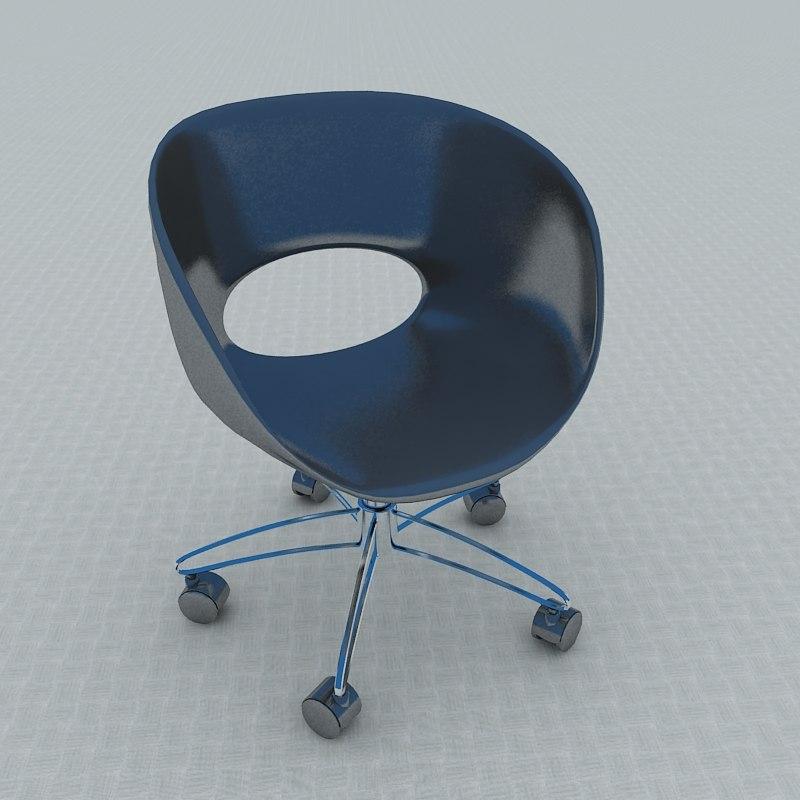 3d single chair