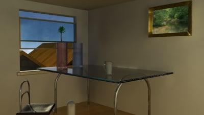 room mentalray 3d model