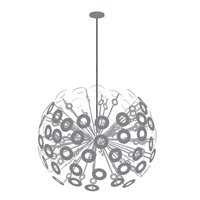 dandelion light 3d max