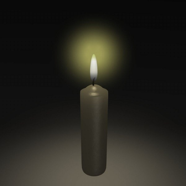 candle obj