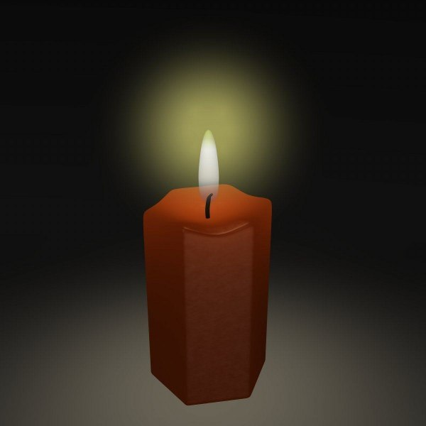 dxf candle