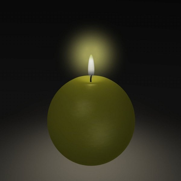3d model of candle