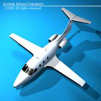 3d light jet model