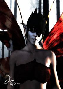 maya female fairy character fantasy