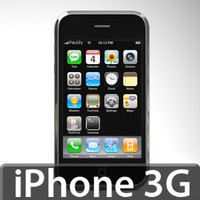 3d model apple iphone 3g