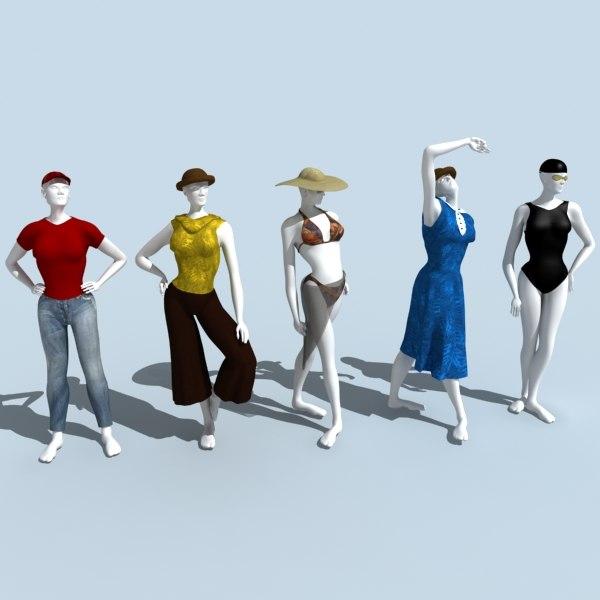 3d model mannequin