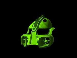3d model lewa mask