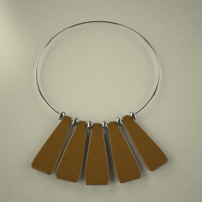 neck necklace 3d model