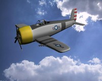 3d ww2 fighter