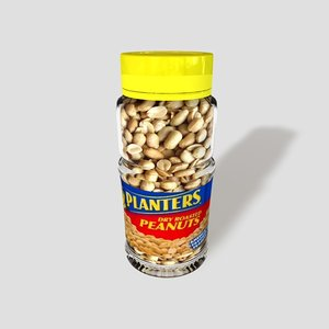 3d jar peanuts zipped