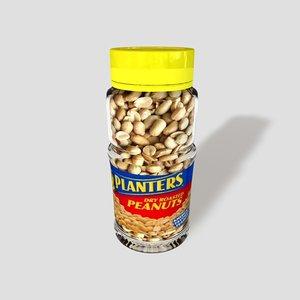 3d jar peanuts zipped