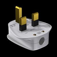 3d uk plug model
