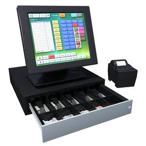 3d model of touchscreen register
