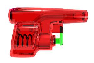 3ds max water pistol
