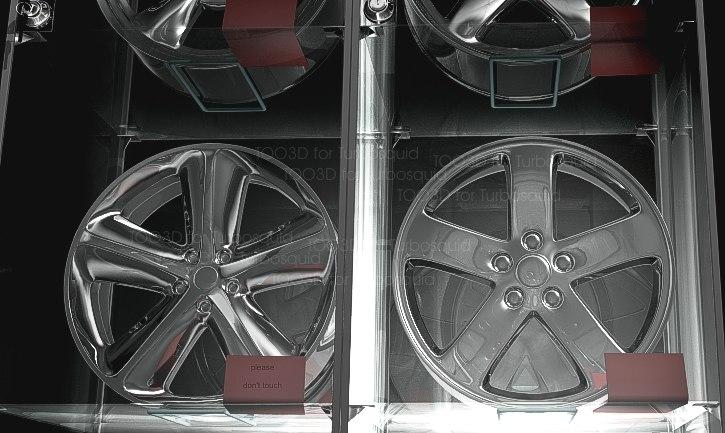 3d 4 wheel rims
