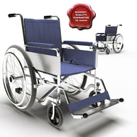 wheelchair medical modelled max