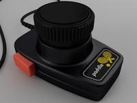 3d model atari paddle controller