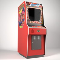 3d obj donkey kong arcade