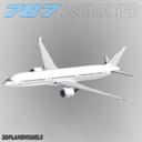 Boeing 787-10 3D models