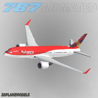 obj b787-3 avianca