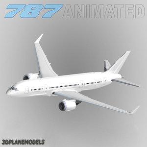 b787-3 generic white lwo