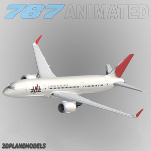 max b787-3 japan airlines jal