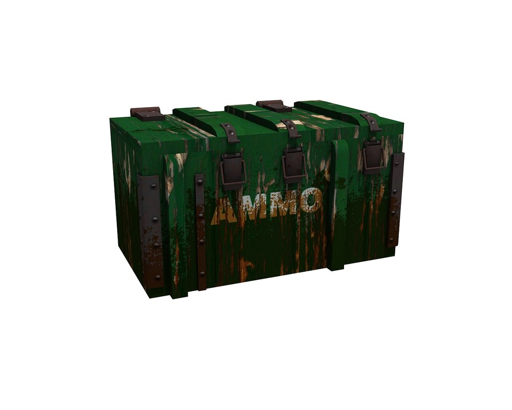 ammo box 3d 3ds