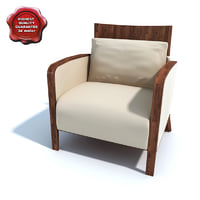 3d model armchair 00942
