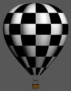 3ds max hot air balloon