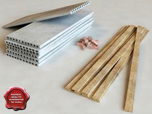 building materials 3d max