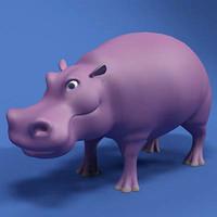 3d hippo model