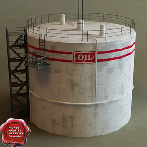 oil tank c4d