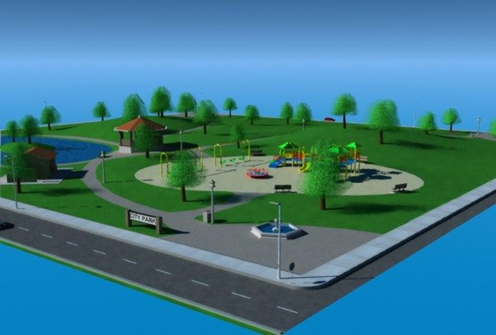 max city park