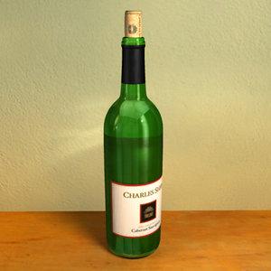 maya wine bottle
