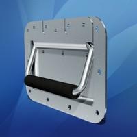 3d recessed handle model