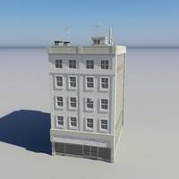 city building - 8 3d max
