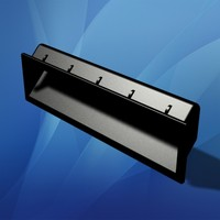 snap drawer insert handle 3d model