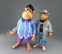 two bears character