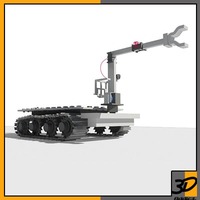 bomb disposal robot 3ds