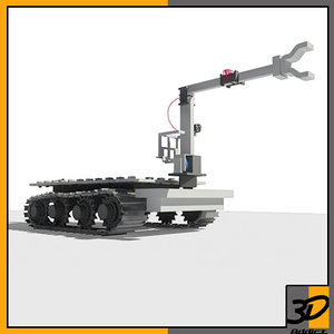 bomb disposal robot 3ds