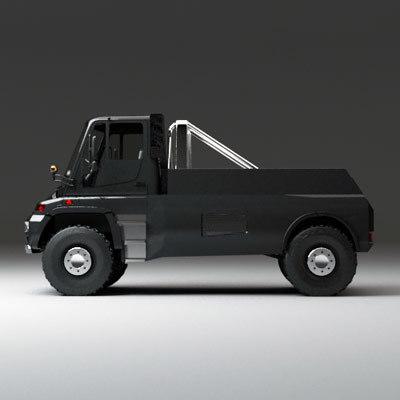 3d u500 black edition model