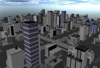 city skyscrapers buildings 3ds free